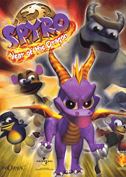 Spyro: Year of the Dragon's cover