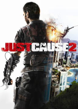 Just Cause 2's cover