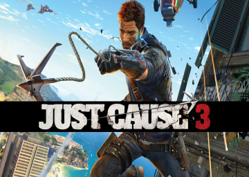 Just Cause 3's cover