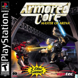 Armored Core: Master of Arena's cover