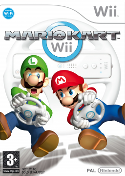 Mario Kart Wii's cover
