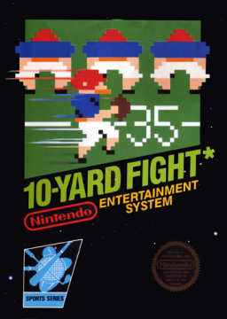 10-Yard Fight's cover
