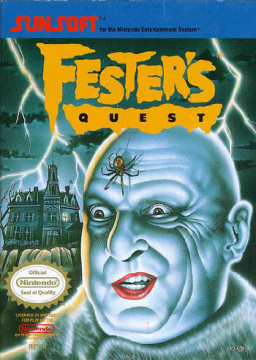Fester's Quest's cover