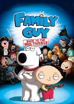 Family Guy: Back to the Multiverse's cover