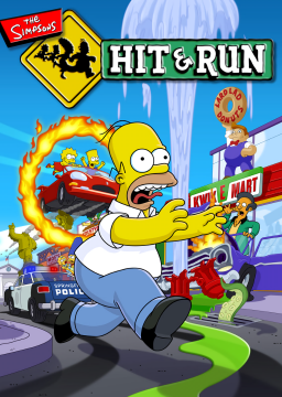 The Simpsons: Hit & Run's cover