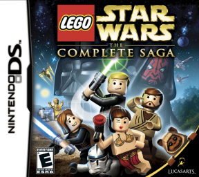 LEGO Star Wars: The Complete Saga (DS)'s cover