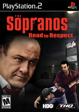 The Sopranos: Road to respect's cover