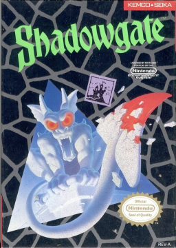 Shadowgate (NES)'s cover