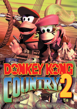 Donkey Kong Country 2: Diddy's Kong Quest's cover