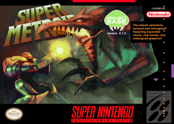 Super Metroid: Project Base's cover