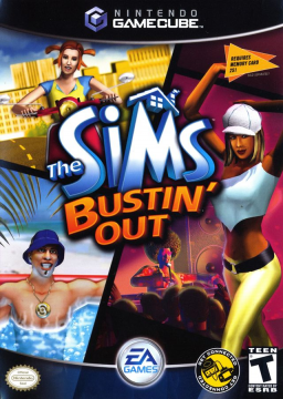 The Sims Bustin' Out's cover