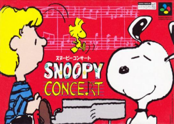 Snoopy Concert's cover