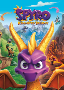 Spyro Reignited Trilogy (PC)'s cover