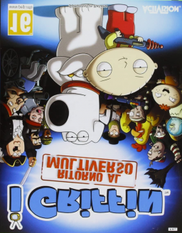 Family Guy: Back to the Multiverse Category Extensions's cover