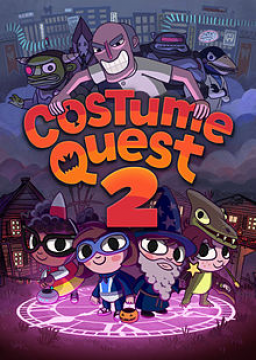 Costume Quest 2's cover