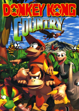 Donkey Kong Country's cover