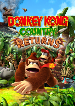Donkey Kong Country Returns's cover