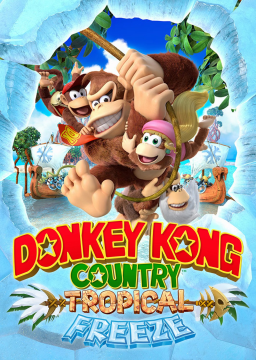 Donkey Kong Country: Tropical Freeze's cover