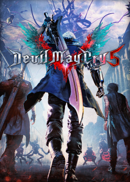 Devil May Cry 5's cover