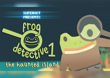 The Haunted Island, a Frog Detective Game's cover