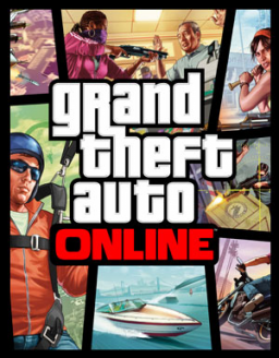 Grand Theft Auto Online's cover