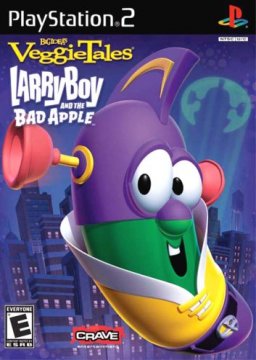 VeggieTales: LarryBoy and the Bad Apple (PS2)'s cover