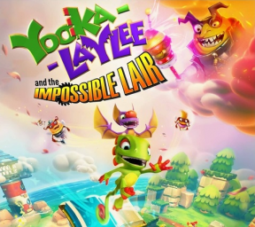 Yooka-Laylee and the Impossible Lair's cover