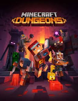Minecraft Dungeons's cover