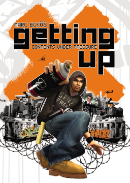 Marc Ecko's Getting Up: Contents Under Pressure's cover