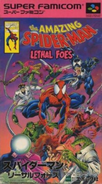 The Amazing Spider-Man: Lethal Foes's cover