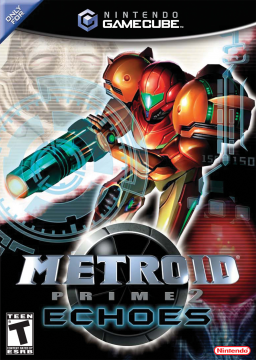 Metroid Prime 2: Echoes's cover