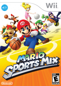 Mario Sports Mix's cover