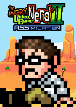 Angry Video Game Nerd II: ASSimilation's cover