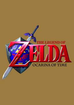 The Legend of Zelda: Ocarina of Time's cover